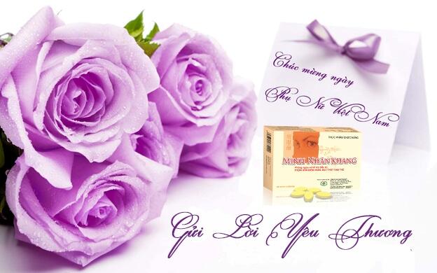 Minh Nhãn Khang - món quà 20/10 đầy ý nghĩa dành tặng cho người phụ nữ thân yêu